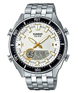 Casio Men's 'Ana-Digi' Metal and Stainless Steel Casual Watch AMW-720D-7... - $82.00