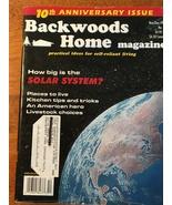 Backwoods Home - Pepper/Self Reliancy - Magazine Nov/Dec 99-10th Anniv I... - $12.00