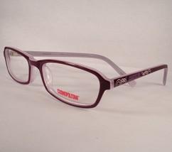 Cosmopolitan Besso Purple Women Eyeglasses Frames Eyewear Designer - $77.80