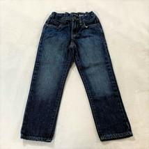 Place Kids boy's Adjustable Elastic Waist Straight Blue Jean Pants Size ... - $8.91