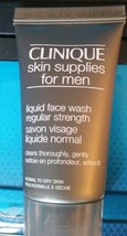 CLINIQUE for MEN Liquid Face Wash Regular Strength Normal to Dry Skin 1oz NEW - $11.75