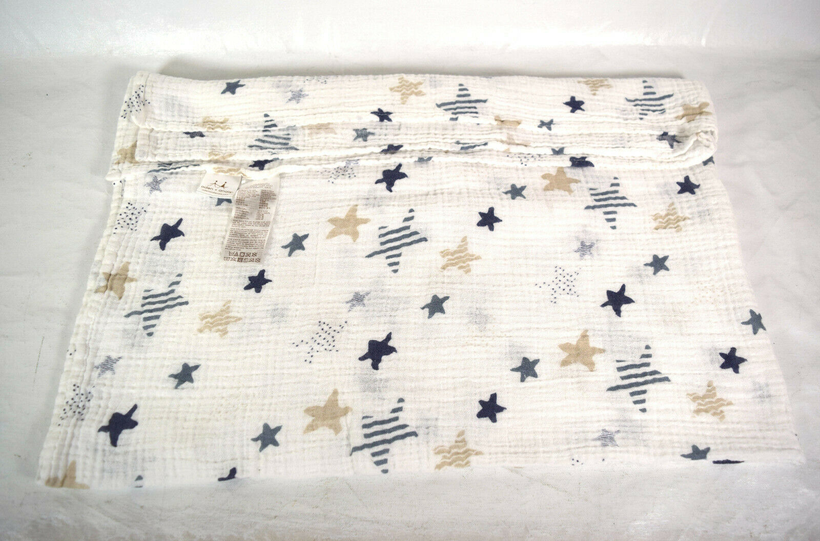 Primary image for Lot of 4 Blankets Aden and Anais Swadden Baby