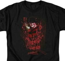 A Nightmare On Elm Street t-shirt Freddy Krueger retro horror graphic tee WBM554 image 2