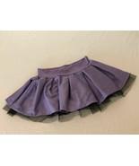 Fabric Tulle Skirt Girls Size Medium Purple Costume Dance Stretch Waist ... - $9.99