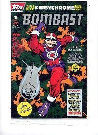 Bombast #1 Topps Comic [Comic] [Jan 01, 1996] No information available