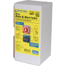Blue Sea Systems Add-A-Battery Kit, 65 Amp, Boxed - $126.74