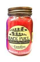 Race Fuel - 16oz Country Jar Soy Candle - Handmade in Rolla MO - Novelty... - $17.65