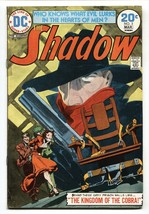 SHADOW #3 comic book 1974-DC-Electric Chair cover - $22.70