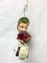 Katherine's Collection Cat Teapot Surprise Box Christmas tree Ornament - $29.99