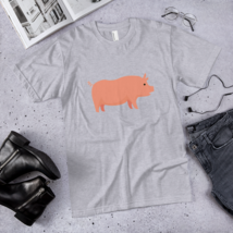 Pro pig t-shirt / pig T-Shirt / made in USA  image 4
