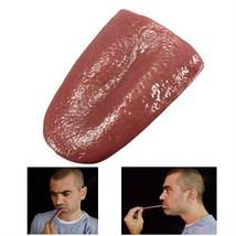 Halloween Realistic Tongue Gross Jokes Gags Prank Magic Tricks Prop Funn... - $3.49
