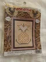Brand New Chicken Scratch 5 x 7 in Pineapple Needle Magic Cross Stitch K... - $10.49