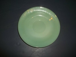 "Vintage Jane Ray Fire King Jade Ite Saucer Anchor Hocking 5 7/8"" Diamete... - $19.79"