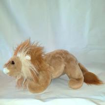 "Vintage 1996 Ty Beanie Original Lion Retired Bean Bag Plush Toy 16"" - £7.19 GBP"