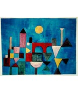 PAUL KLEE, Unique Oil Painting by hand after Red Bridge. Exclusive Art a... - $189.00