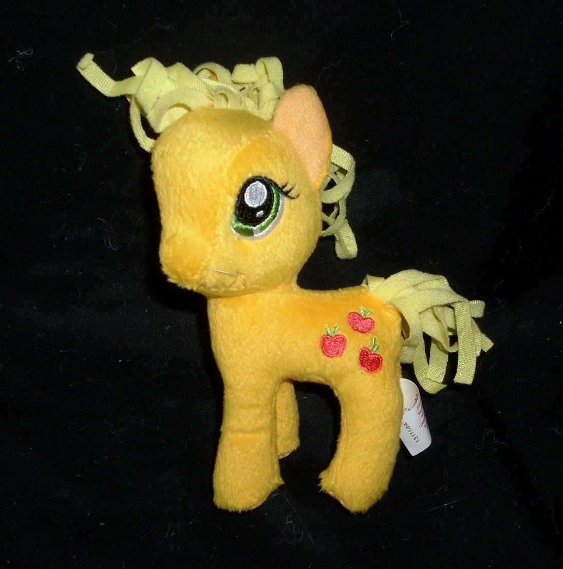 LOT 3 MY LITTLE PONY PONIES RAINBOW DASH APPLEJACK TY STUFFED ANIMAL PLUSH TOY image 6