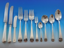 #19 by Durgin Sterling Silver Flatware Set for 12 Service 212 pieces Dinner Deco - $19,995.00