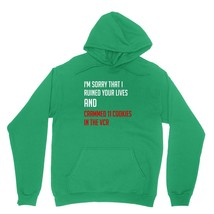 Sorry I Ruined Your Lives Shirt Classic Christmas Movie Unisex Green Hoodie Swea - $24.95+