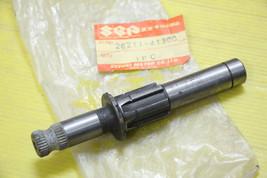 Genuine Suzuki RM100 RM125 Kick Starter Shaft NOS. 26211-41300 - $52.91