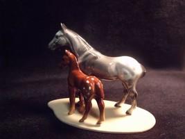 Hagen Renaker Horse Appaloosa & Colt  Miniature Figurine Porcelain - $23.76