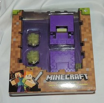 NEW Minecraft Spinning Shulker Action Figure Purple - $19.79