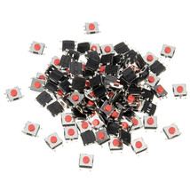 100pcs Tactile Push Button Switch Tact Switch 6 X 6 X 3.1mm SMD Used in ... - $3.86