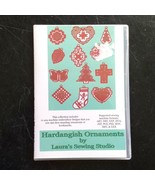 Hardangish Ornaments CD Hardanger Christmas Patterns Laura's Sewing Studio - $14.84