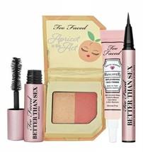 TOO FACED Juicy 4 Pc Set Better than Sex Mascara Eyeliner HangoveRx Prim... - $29.99