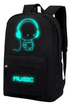 Canvas Backpack Cool Cartoon Galaxy LED Teen Teenage Boys Girls Students... - $29.99