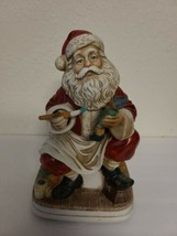 RARE-VINTAGE 1980's WACO Santa Clause Painting A toy Battery Operated Mo... - $264.38