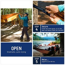 ENO - Eagles Nest Outfitters DoubleNest Hammock, Portable Hammock for Tw... - $121.35