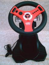 Interact Concept 4 * Nintendo 64 Red & Black Racing Controller / Steerin... - $25.00