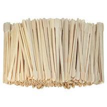 1000pcs Wax Spatulas Small Wax Wood Sticks, Waxing Applicator Sticks Wooden Craf image 2