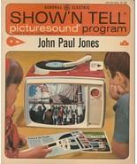 John Paul Jones Show 'N Tell Picturesound Program 1964 Vintage ST 135 - $9.89