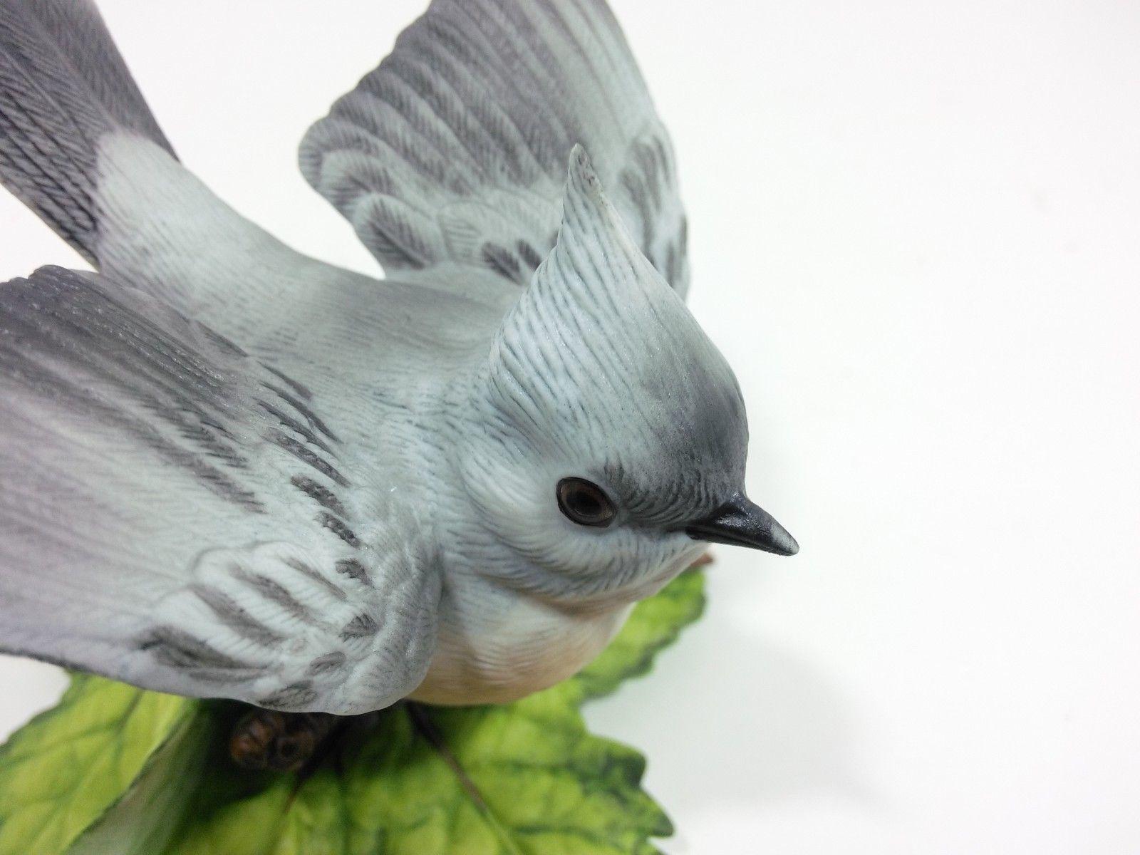 THE LENOX GARDEN BIRD COLLECTION Tufted Titmouse (Fine Porcelain 1986) image 9