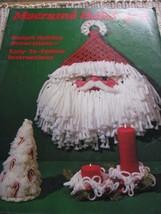 Macrame Book MM321 Holiday II Macrame Christmas Patterns Tree Santa Orna... - $9.89