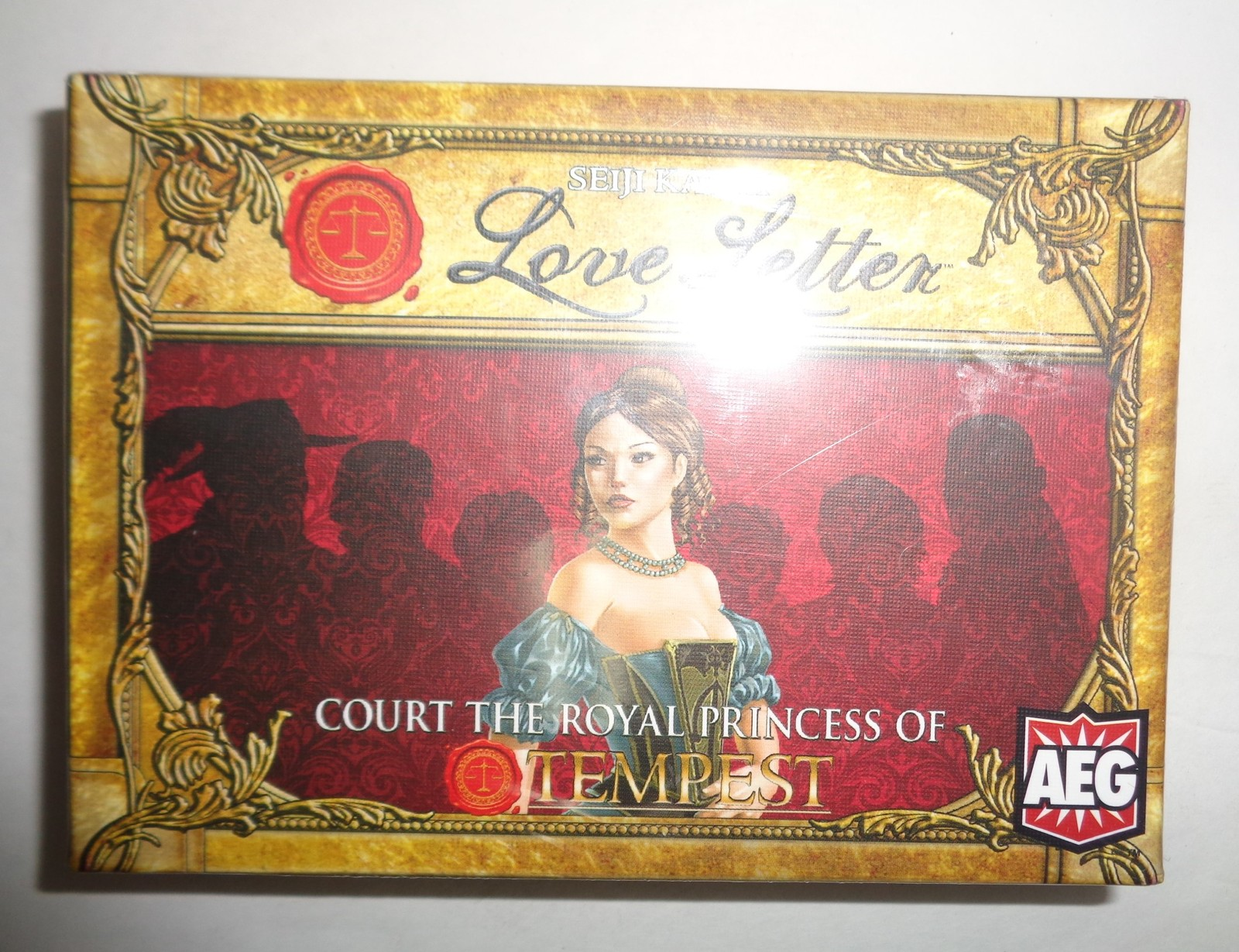 LOVE LETTER Court the Royal Princess of Tempest Card Game NIB