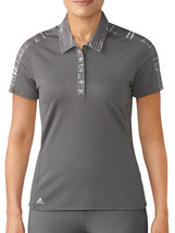 ADIDAS GOLF MERCH WOMEN'S POLO ASSORTED SIZES NEW BC7601 - $14.99