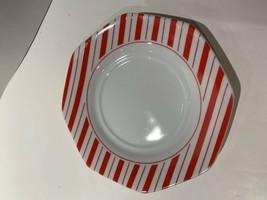 "Mikasa PREPPIE RED China Bread Plate LDA03 Retired  6"" Valentine Christmas - $5.89"