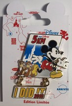 Disneyland Paris runDisney 5K I Did It Pin 2016 Mickey Mouse Chip & Dale - $39.60