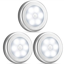 Multi Functional Motion Sensored Battery Powered Automated Led Wall Nigh... - $19.00+