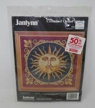 Janlynn 1994 Celestial Sun Counted Cross Stitch Kit #157-16 - $18.69