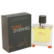 Terre D'Hermes by Hermes Pure Pefume Spray 2.5 oz (Men) - $92.95
