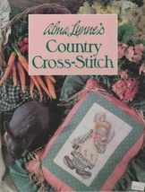 """Hard Covered Book - """"Country Cross-Stitch"""" - Alma Lynne's - Gently Used - $18.00"""