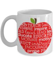 Apple For Teacher Coffee Mug Gift For Back To School - $14.84+