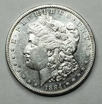 1884S MORGAN SILVER $1 DOLLAR Coin Lot# A 165