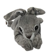 "IKEA Vandring Gray White Easter Bunny Rabbit Hare Plush Stuffed Animal 16"" - $19.80"