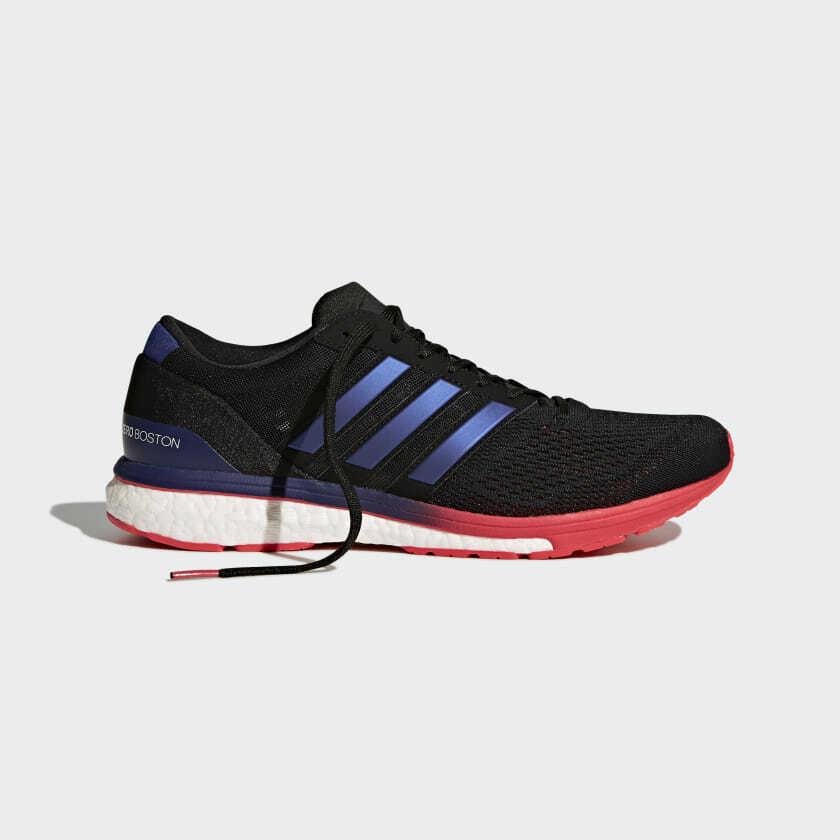 Adidas Adizero Boston 6 Herren Größe 8.5 BB6413 Marathon Neu Bequem Laufen image 5