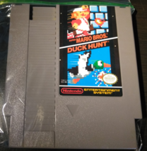 Super Mario Brothers & Duck Hunt NES Nintendo Game Mint Tested Works Great - $34.95