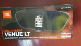 JBL  OnBeat Venue LT Wireless Speaker with Lightning Connector - White - $395.30 CAD